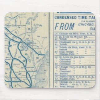 Rome, Watertown and Ogdensburg Railroad Mouse Mat