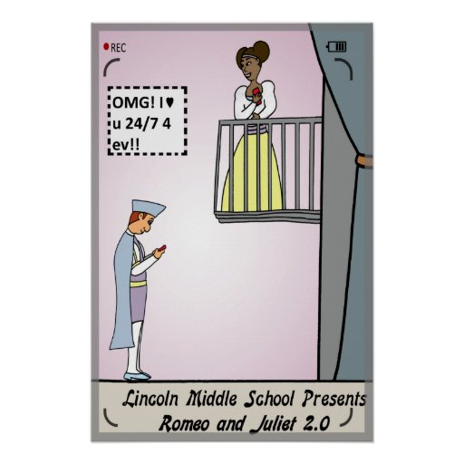 Romeo and Juliet 2.0 Poster
