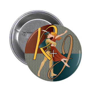 Romeo and Juliet, ballet 6 Cm Round Badge