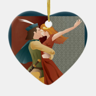 Romeo and Juliet, ballet Christmas Ornament