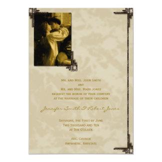 Romeo and Juliet Fairytale Wedding Invitation