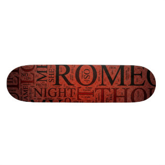 Romeo and Juliet (Red) Skateboard