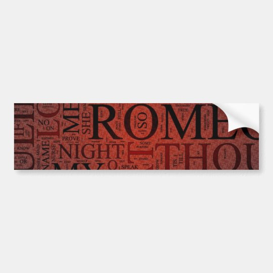 Romeo and Juliet (Red) Sticker