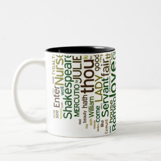 Romeo and Juliet Word Collage Mug
