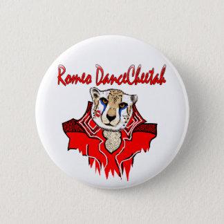 Romeo Dance Cheetah 6 Cm Round Badge