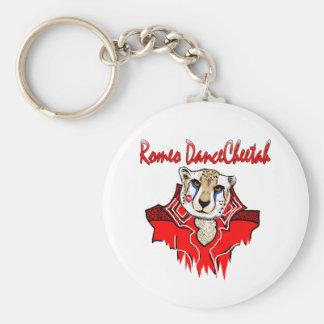 Romeo Dance Cheetah Keychain