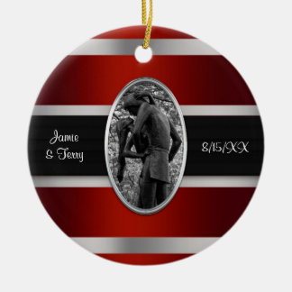 Romeo & Juliet, Central Park NYC Invitation Suite Christmas Ornaments