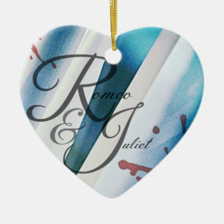 Romeo & Juliet Heart Ornament