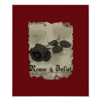 Romeo & Juliet Mock Movie Poster