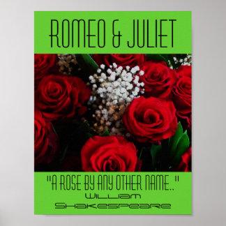 Romeo & Juliet Poster A Rose Shakespeare Festival