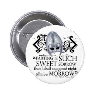 Romeo & Juliet Quote 6 Cm Round Badge
