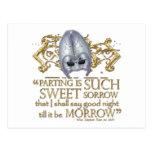 Romeo & Juliet Quote (Gold Version) Postcards