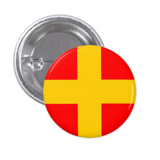 ROMEO - NAUTICAL FLAG 3 CM ROUND BADGE