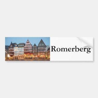 Romerberg Bumper Sticker