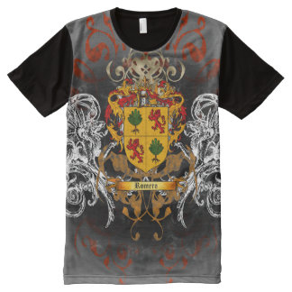Romero Coat of Arms All-Over Print T-Shirt