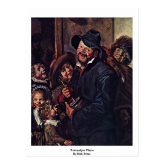 Rommelpot Player By Hals Frans Post Cards