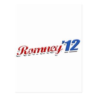 Romney '12 postcard