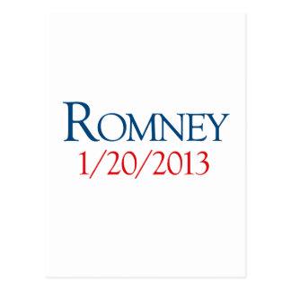 ROMNEY 1-20-2013 POSTCARD