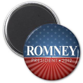 Romney 2012 6 cm round magnet