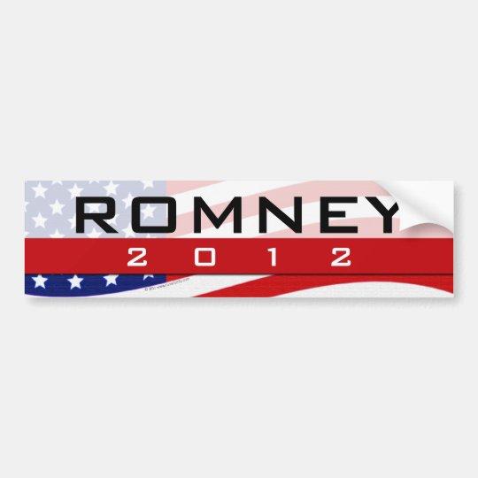 Romney 2012 Bumper Sticker
