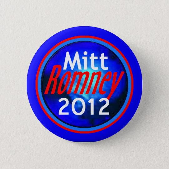 ROMNEY 2012 Button