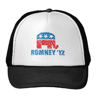 ROMNEY-2012 MESH HATS