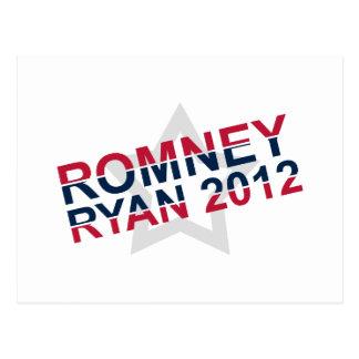 Romney 2012 Ryan Postcard