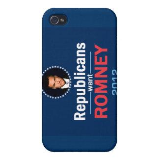 Romney 2012 Speck Case iPad iPhone 4 Covers