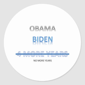 Romney 2012 round stickers