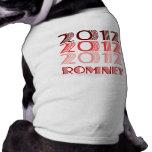 ROMNEY 2012 VINTAGE PET TEE SHIRT