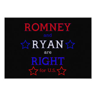 Romney and Ryan are Right for U S Custom Invitation
