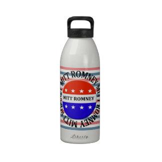 romney button drinking bottles