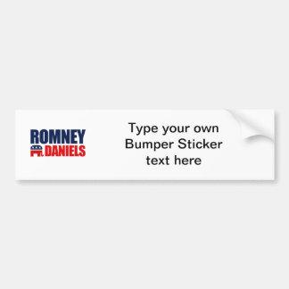 ROMNEY DANIELS TICKET 2012 BUMPER STICKERS