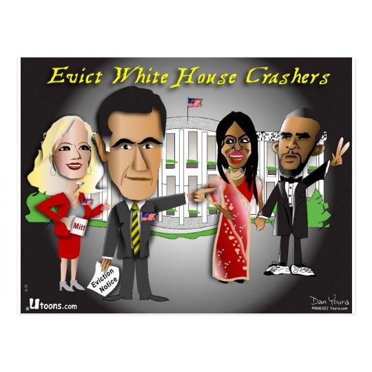 Romney Eviction Notice Postcard