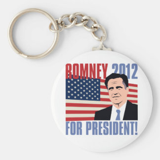 Romney for president 2012 keychain