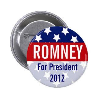 Romney for President 2012 Retro Button