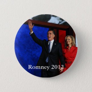 Romney for President 6 Cm Round Badge