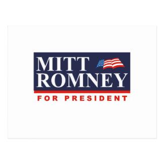 ROMNEY FOR PRESIDENT (Banner) Postcard