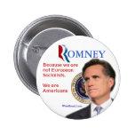 Romney for President Pin
