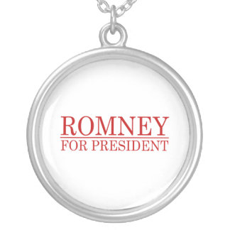ROMNEY FOR PRESIDENT Red Pendants