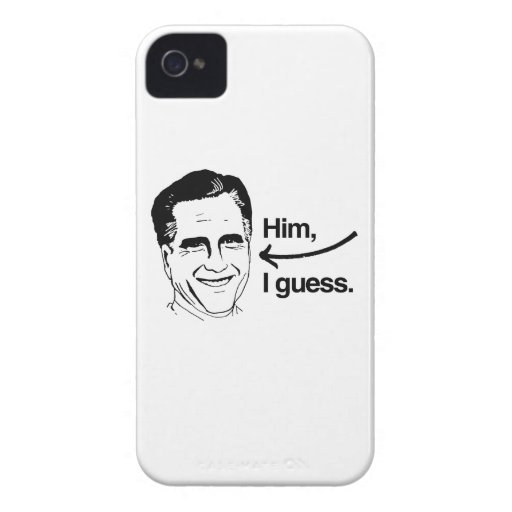 ROMNEY I GUESS - HIM I GUESS.png Blackberry Case