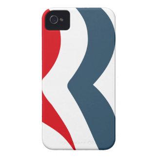 Romney icon iPhone 4 Case-Mate cases