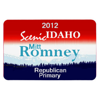 Romney IDAHO Rectangular Photo Magnet