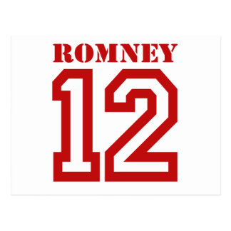 ROMNEY IN 12 POSTCARD