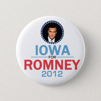 Romney Iowa Button