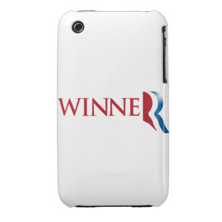 ROMNEY IS A WINNER iPhone 3 CASES
