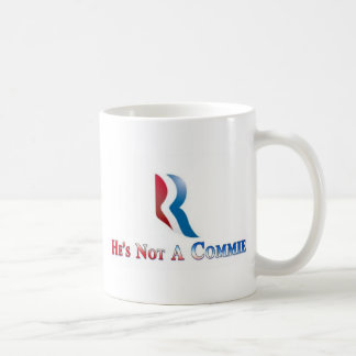 Romney is not a Commie Basic White Mug