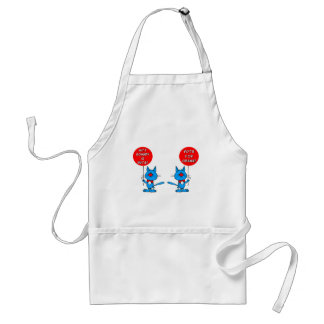 Romney is nuts vote for Obama Standard Apron