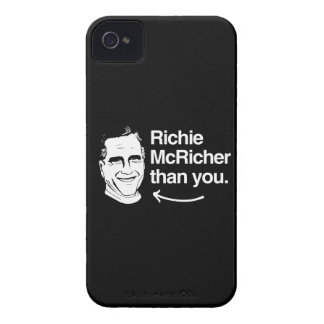 ROMNEY IS RICHIE MCRICHER THAN YOU.png iPhone 4 Cover