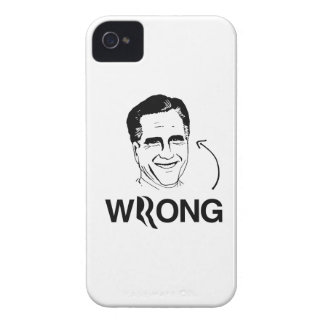ROMNEY IS WRONG.png iPhone 4 Case